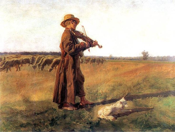 Józef Chełmoński - Owczarek, 1897