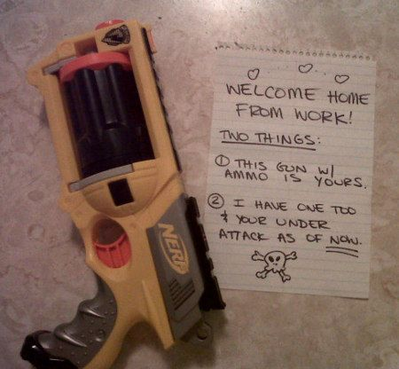 I need someone to do this with.: One Day, Ideas, Stuff, Nerf Gun, Wedding, Funny, Things, I Will