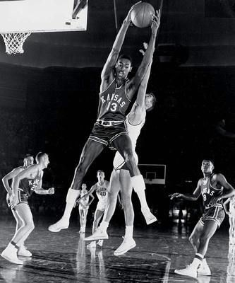 Wilt Chamberlain...Look at the top 50 KU basketball players!