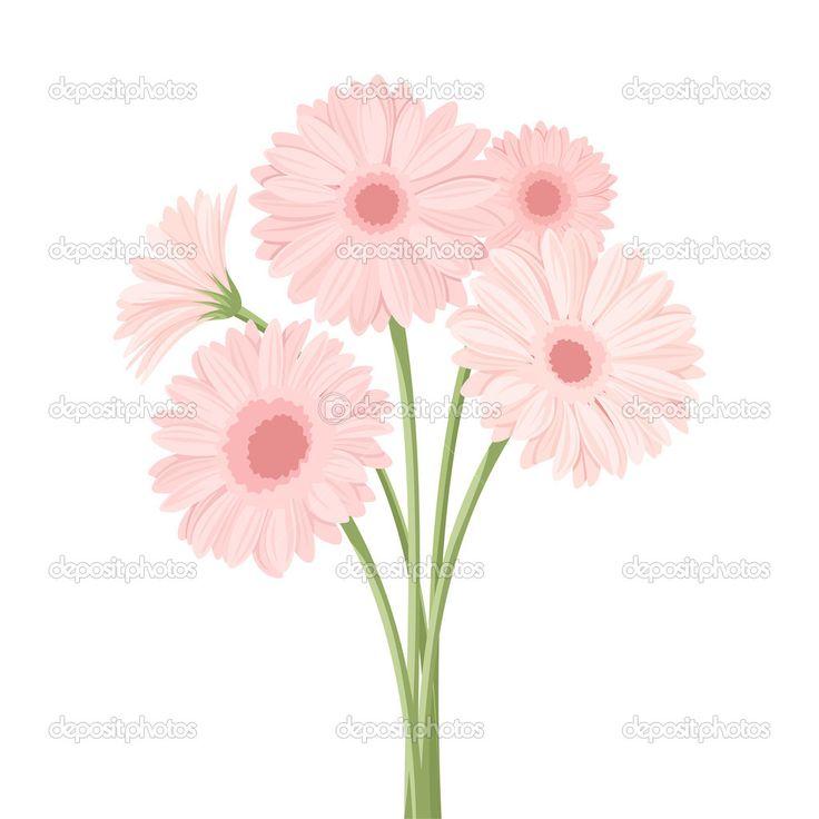 Flower Dibujo: Gerberas Dibujo - Buscar Con Google