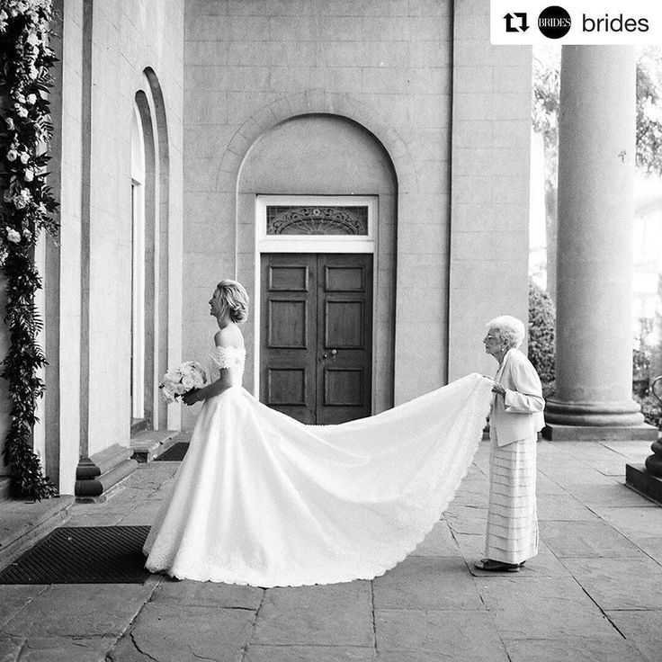 So adorable  every day with your loved ones is a gift. Having your Grandparents helping out on your #weddingday ... priceless. -- this picture somehow reminds me on you @susanngerstaecker  #Repost @brides (@get_repost)  When grandma insists on helping out on your big day  Tap link in bio for more ways to make grandma happy come wedding day | : @virgilbunao