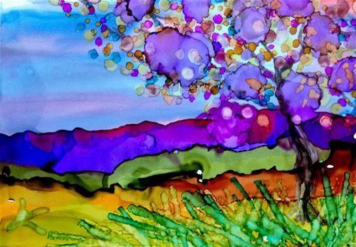 """Moujntains Majesty"" - Original Fine Art for Sale - © Kristen Dukat"