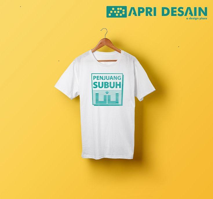 Desain Kaos Islami - Pejuang Subuh by ApriDesain.id  Pesain Desain Call/SMS/WhatsApp : 0812-9605-6898
