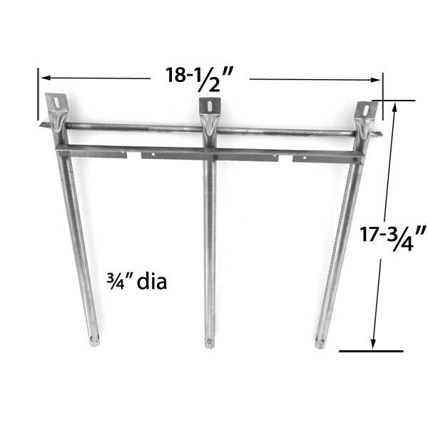 REPLACEMENT STAINLESS STEEL BURNER FOR SONOMA 949725CGR27, 949725CGR27LP, 949725CGR30 GRILL MODELS Fits Compatible Sonoma Models : 949725, 949725CGR27, 949725CGR27LP, 949725CGR30, 949725CGR30LP, CGR27, CGR30, CGR30LP, CGR44, CRG30, SGIR27LP, SGR27, SGR30LP, SRG30 Read More @http://www.grillpartszone.com/shopexd.asp?id=33289&sid=34289