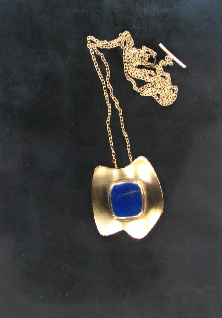 Gold and Lapis Lazuli