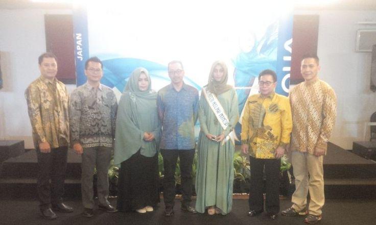 AQUA Japan Berbagi Tips Kebersihan Busana Muslimah di Makassar