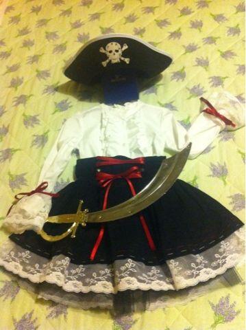 Parola di Laura: Vestito da piratessa fai da te