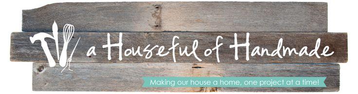 a Houseful of Handmade