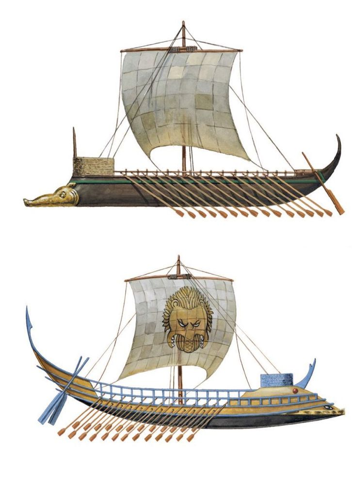 Ancient Minoan Ships
