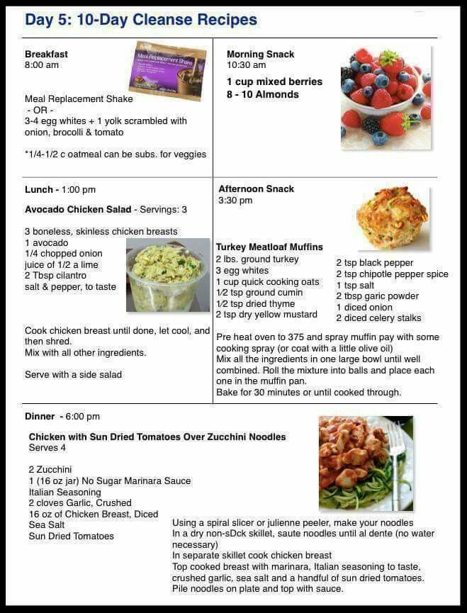 Day 5: 10 Day Cleanse Recipes