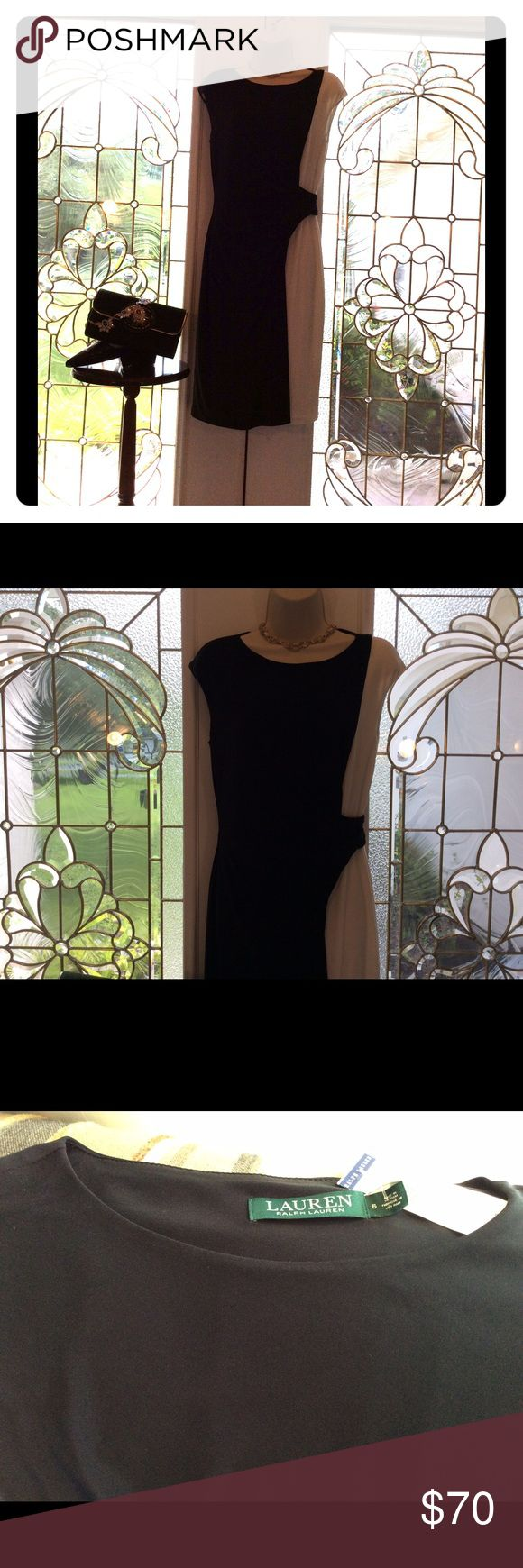 💗RALPH LAUREN COCKTAIL DRESS💗 Classy cocktail dress will fit your curves in all the right places. Wear to almost any occasion. Lauren Ralph Lauren Dresses