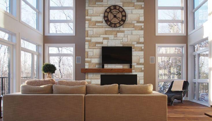 Les 72 meilleures images propos de pierre d 39 int rieur for Briques decoratives interieur