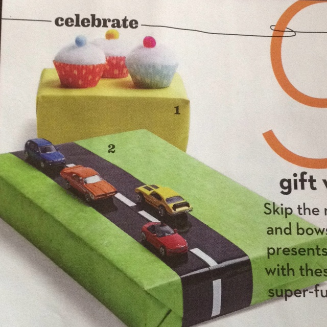 Present wrapping with added awesome! Wrap gifts and add fun toys to the outside with the trusty glue gun!