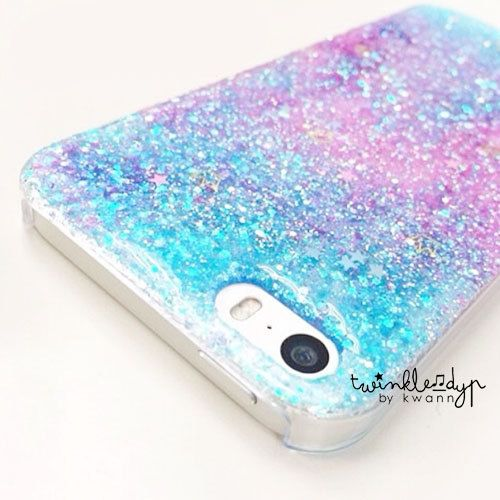 Mermaid  iPhone case Glitter case for iPhone 44S  by TwinkleDYP