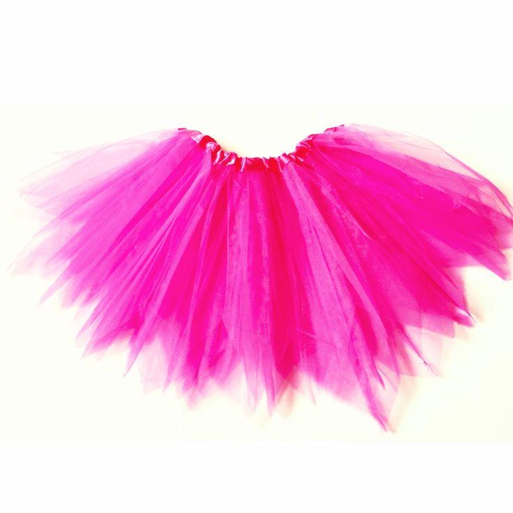 Rózsaszín tütü / tüll szoknya farsangi jelmezhez 2-7 éveseknek