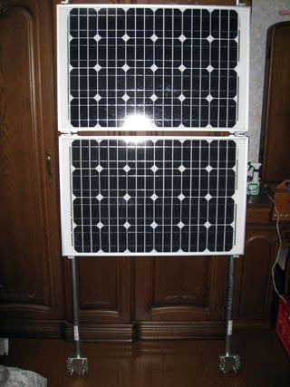 日曜大工で太陽光発電3