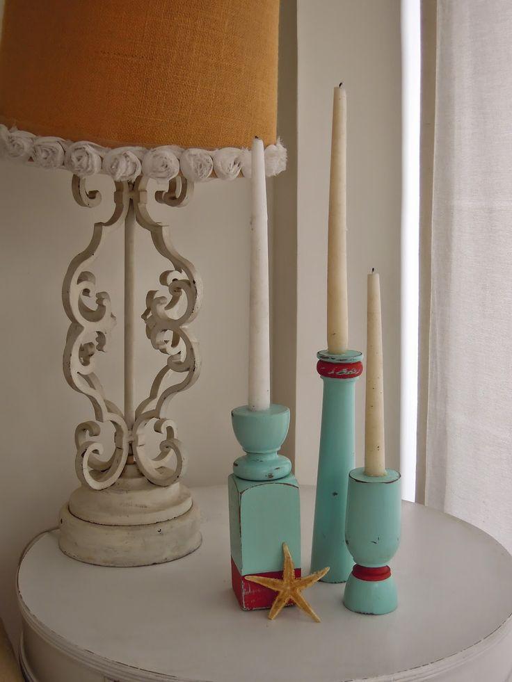 MC Vintage Tienda: Vintage Deco - Reciclado de patas como candelabros