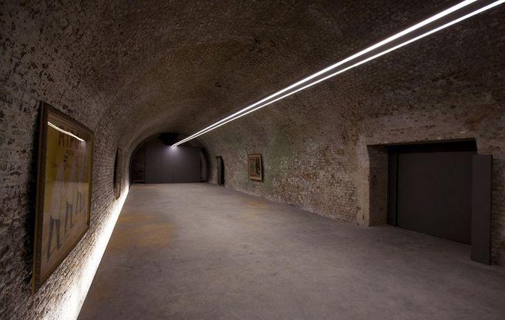 "Restauration, reconversion & refurbishment of ""Kazematten"" bombshelters, Ieper, 2013"