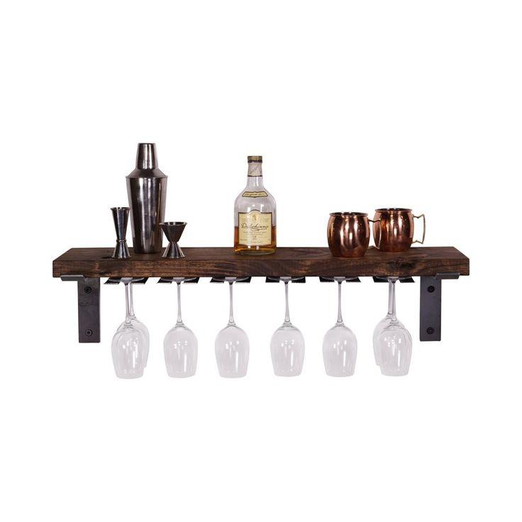Best 25+ Wine glass rack ideas on Pinterest   Wine glass ...