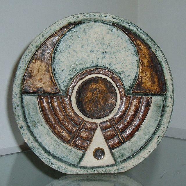Troika pottery vase