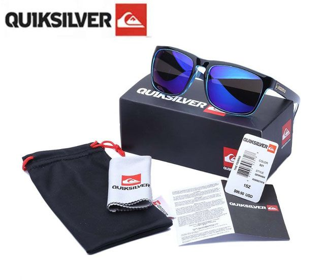 Quiksilver sports sunglasses with original packing 14 colors