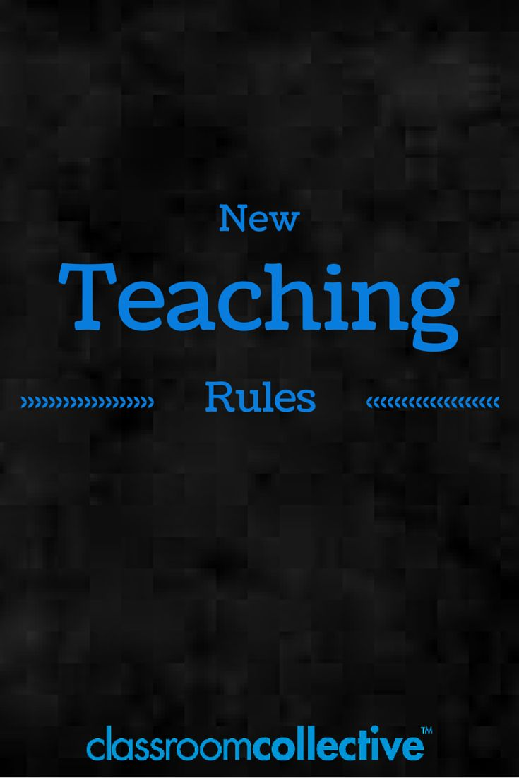 New Teaching Rules