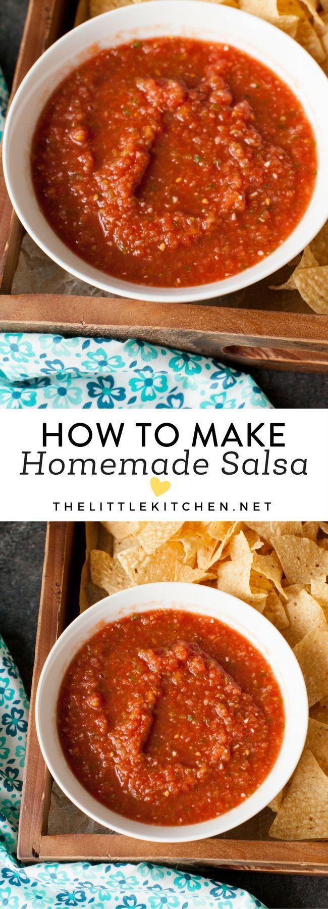 How to make salsa from thelittlekitchen.net @TheLittleKitchn