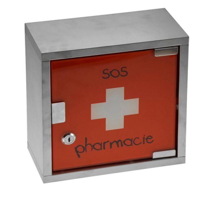 Pharmacie Armoire Pharmacie Sos Sos RougePratique Organisation Armoire 0kn8OwPXN