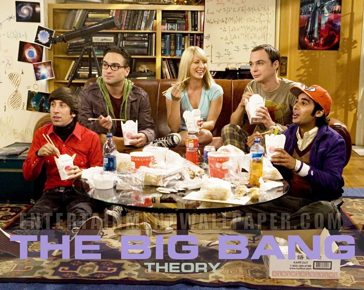 Go Big Bang Theory!