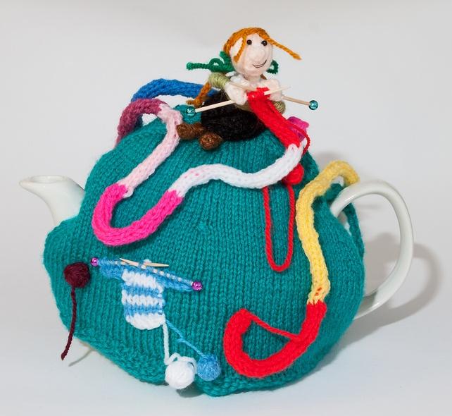 CherryBee Nutty Knitter tea cosy £30.00