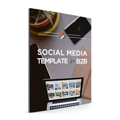 Social Media Template for B2B