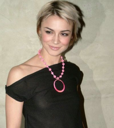 Samaire Armstrong - simple and quirky hair