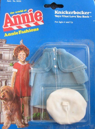 Little Orphan ANNIE FASHIONS Outfit DRESS UP COAT & Beret...