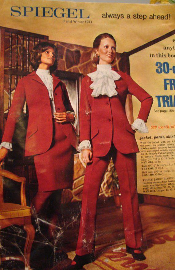 Vintage Fall/Winter 1971 Spiegel Catalog - fashions, home decor, appliances REDUCED via Etsy