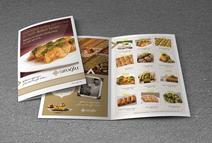 sıroğlu geleneksel tatları için yapılan kurumsal broşür tasarımı & basımı. kurumsal ajans & tedarikci olarak ajansımızı tercih ettikleri için teşekkür ederiz. cagajans.com.tr