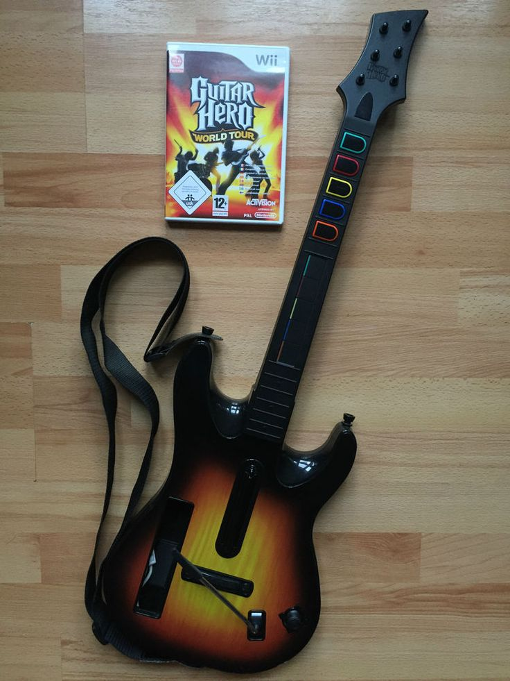 Wii / Wii U - GUITAR HERO World Tour + GUITARE / ACTIVISION