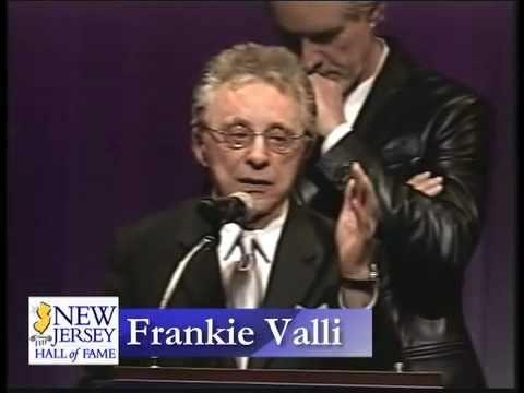 Joe Grano and Bob Gaudio present Frankie Valli into the 2010 NJ Hall of Fame