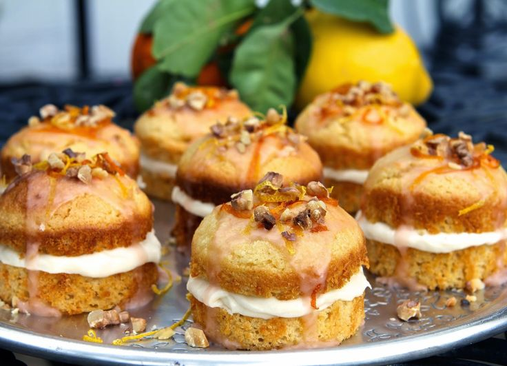 Gluten Free Alchemist: St Clement's Cakes - gluten free (with dairy free/fatless sponge)