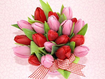Flowers always make people better. Advance Happy Valentines to all.