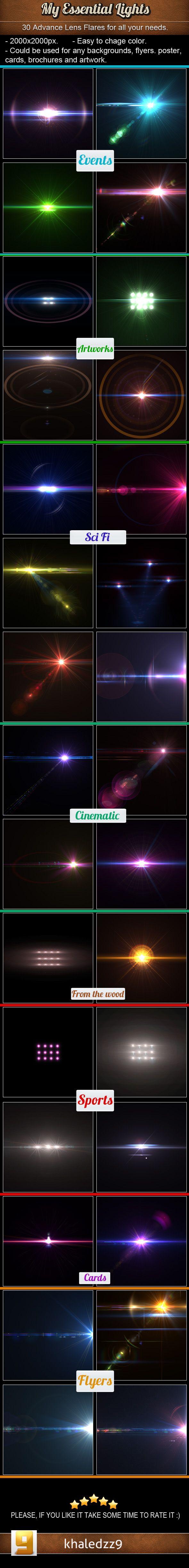 My Essential Lights by khaledzz9.deviantart.com on @deviantART