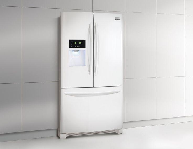 Frigidaire French Door Refrigerator Energy Star Impressive Design, White Color