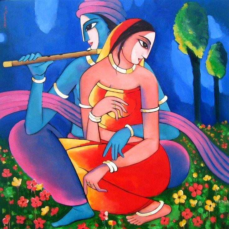 Sekhar Roy 1957   Indian Figurative painter   TuttArt@   Pittura * Scultura * Poesia * Musica  