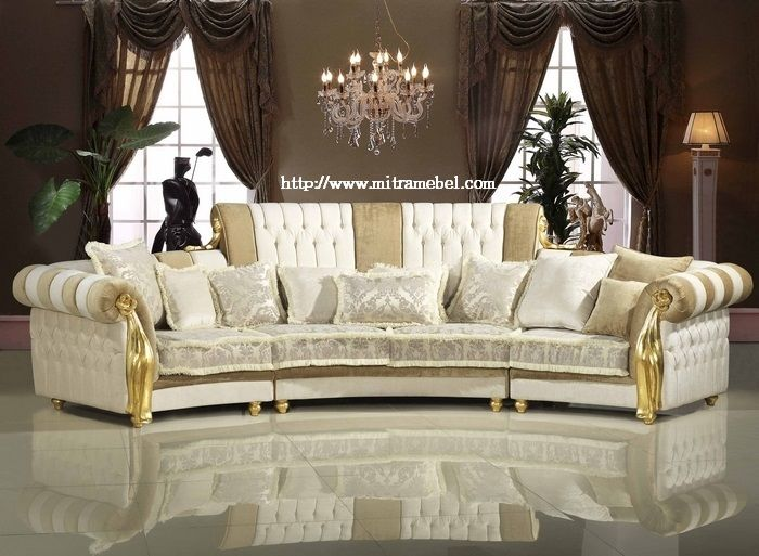 Sofa Mewah Klasik Furniture Sofa Mewah Klasik Furniture merupakan produk furniture terbaru untuk furniture ruangan rumah anda