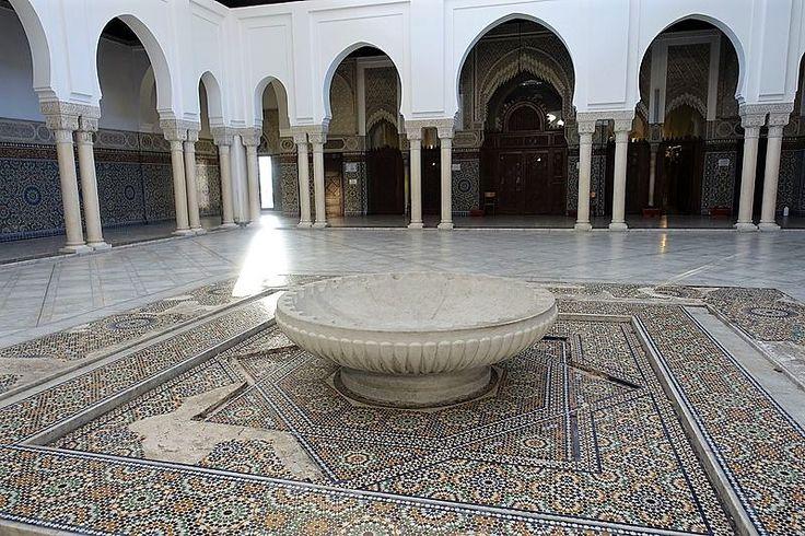 mosquee paris mosaïque