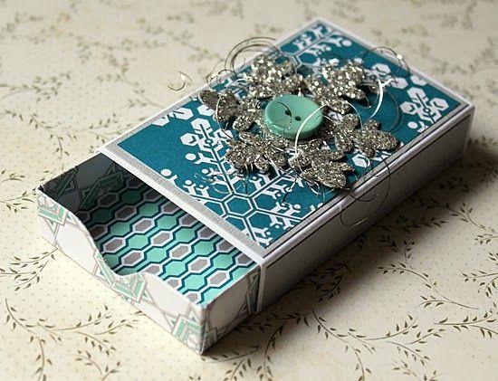 Matchbox (Envelope Punchboard)