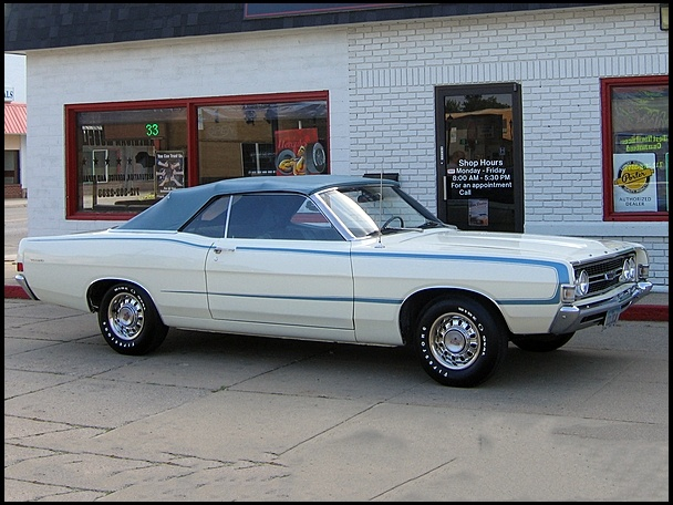 1968 Ford Torino GT Convertible Ford fairlane 500, Ford