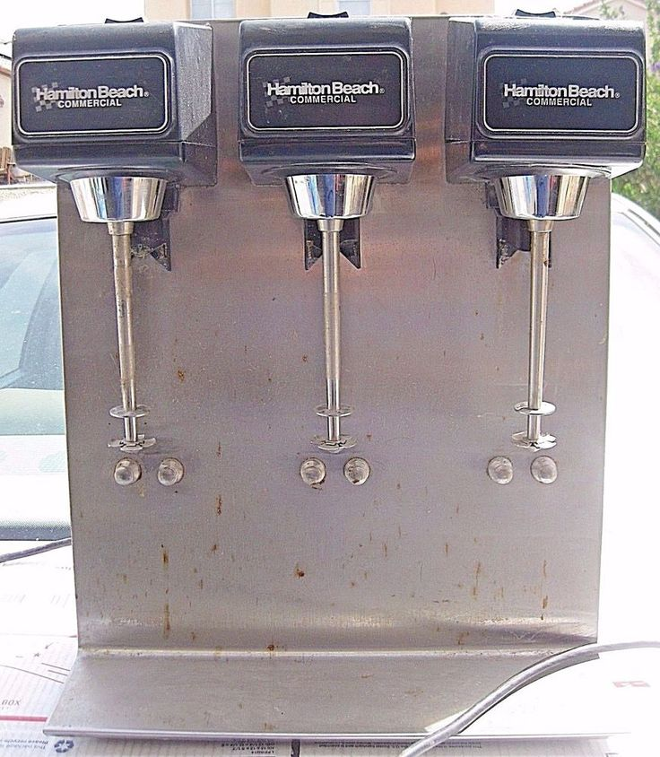 Hamilton Beach Commercial Milkshake Machine 3 heads #HamiltonBeach