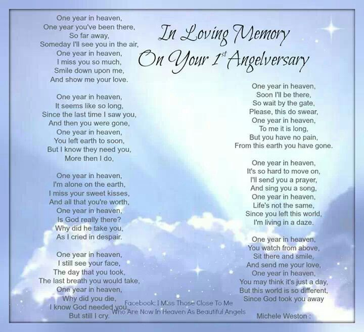 Almost One Year Anniversary Quotes: 1000+ Images About Angelversary On Pinterest