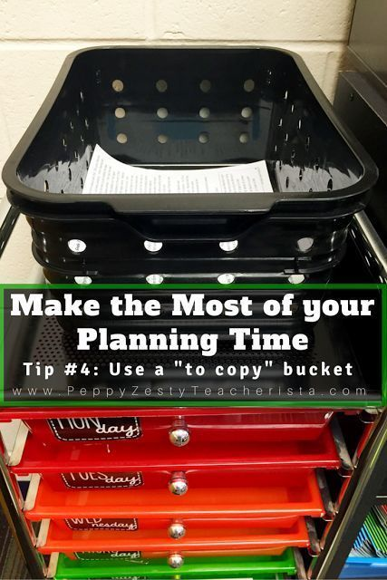 Make the Most of Your Planning time with these classroom ideas! Tons of tips that can be easily implemented so you can focus more on your lesson plans and lesson the paperwork!