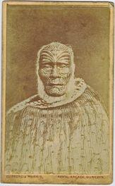 1870s NZ MAORI CHIEF Ihaka Whaanga CDV Photo